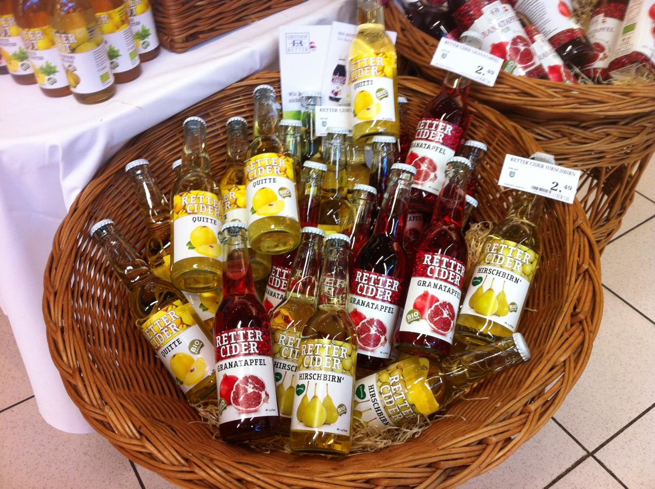 Erfrischende Cider-Getränke