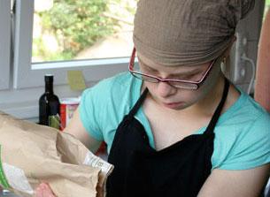 Zubereitung des Brots