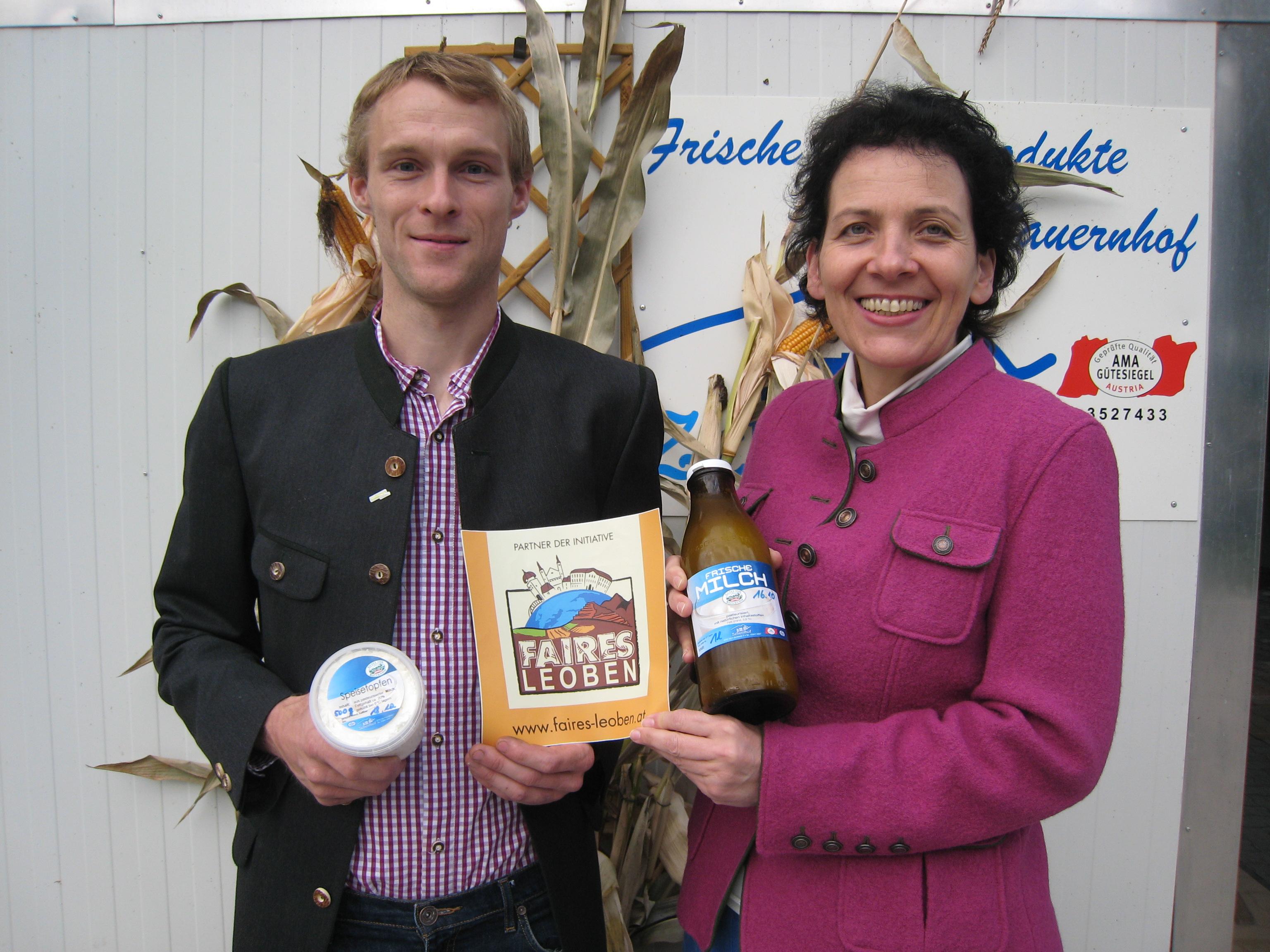 Wolfgang Judmaier mit Erna Schuss