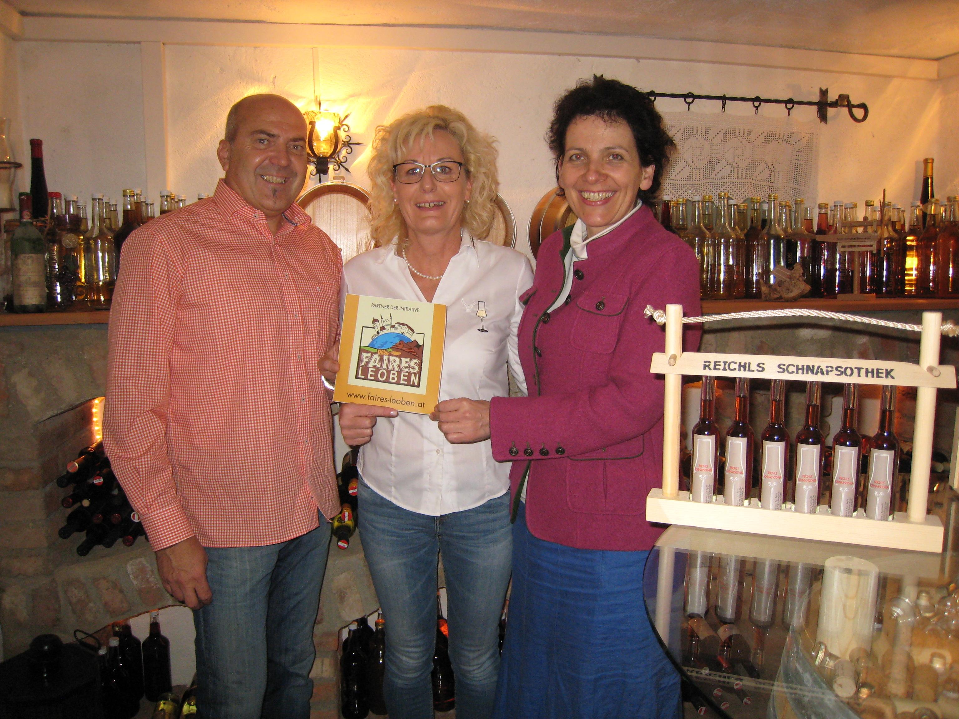 Familie Reichl mit Erna Schuss