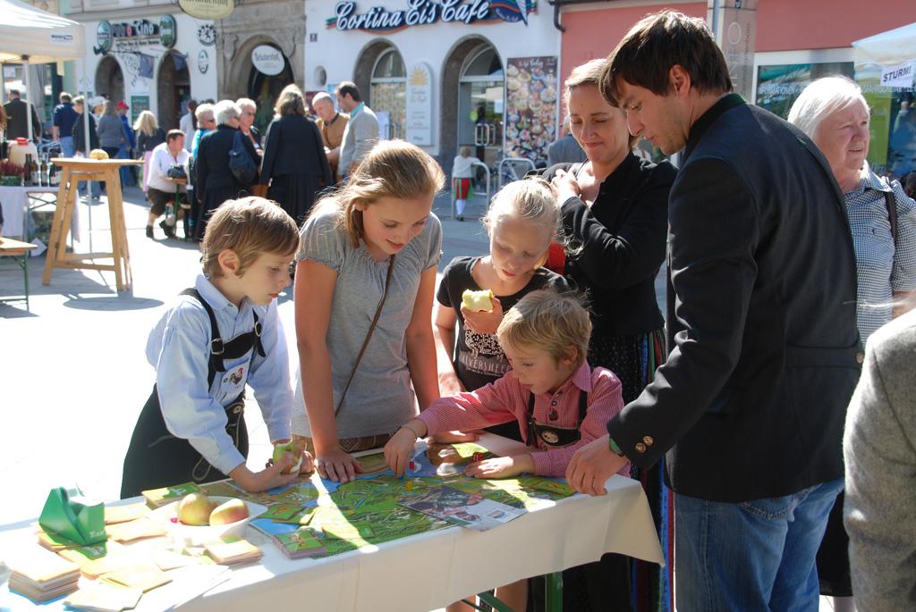 Testspielen beim Stadt Land Fest