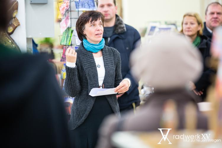 Marianne Pirsch bei der Eröffnung