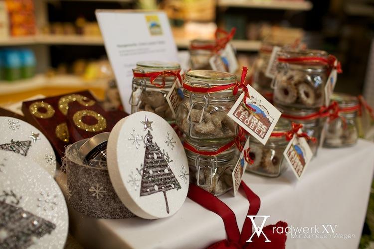 Hausgemachte Kekse mit Zutaten aus der Region und aus Fairem Handel