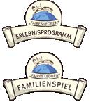 Logo Erlebnisprogramm und Familienspiel